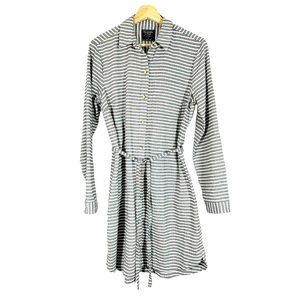 NWT ABERCROMBIE and FITCH Utility Shirt Dress Sz M